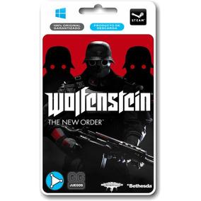 Wolfenstein The New Order Pc 100% Original Guerra Acción