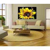 Flores Bastidores En Lienzo 120x80 Envio Gratis