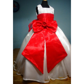 Vestido De Paje Pajecita Para Niña Tipo Tutu Color Rojo