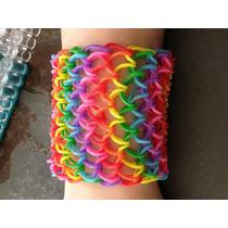 Rainbow Loom Pulseira De Borracha