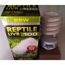 Foco Exo Terra Uv Uvb 26w 5.0 Reptil Glo