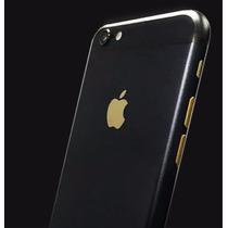 Carcasa Negro Con Oro Iphone 6
