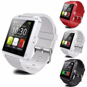 Reloj Smartwach U8 Bluetooth Para Iphone Y Android Blanco.