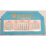 Calendario De Escritorio Interbank Año 1982. Colección.