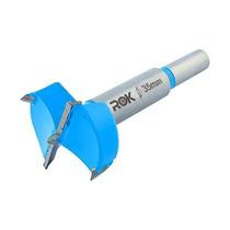 Rok 35mm Hardware Bisagra Boring Broca Forstner Azul Rokbb35