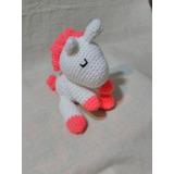 Unicornio Crochet Animalitos Amigurumi El Cristal Encantado