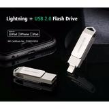 Usb Flash Para Iphone 6,6s Y 7 Ipad Y Ipad Air De 64 Gb
