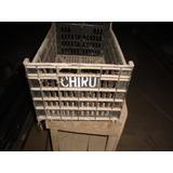 Antiguo Cajón De Plástico - De Verduras Chirú