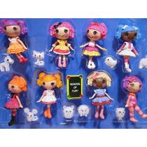 Mini Lalaloopsy Com 08 Bonecas E 08 Animais Pronta Entrega