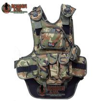 Chaleco Tactico Gotcha Tipo 5.11 Portapods Porta Tanque
