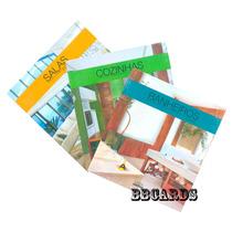 3 Livros Decoração Casa Olga Krell Salas Cozinhas Ed. Luxo