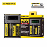 Carregador De Bateria 18650 Nitecore I4 New 18650
