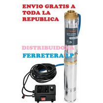 Bomba Eléctrica Sumergible Agua Limpia 11/2 Hp Envio Gratis