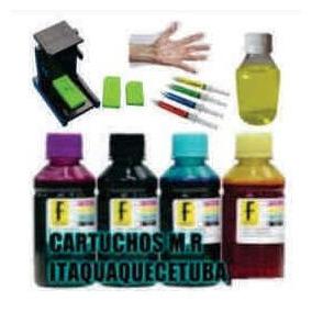 Kit Tinta Recarga Cartucho 664 Hp 2136 3636 3836 662 122xl