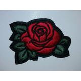 Parches Apliques Bordados Rosas Rose Termoadhesivos P Ropa