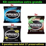 Preservativo Camisinha Prudence Dotado Pênis Grande Extra