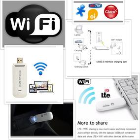 Modem Roteador Wifi 4g Desbloqueado Kit Taxi Uber Veicular