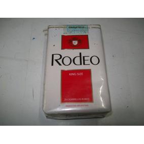 Marquilla Cigarrillos Rodeo King Size Para Coleccionar