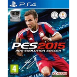 Pes 2015 Ps4 Pro Evolution Playstation