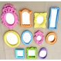 Kit 11 Mini Espelhos Candy Colors