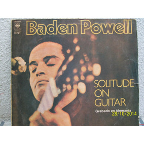 Vinilo - Baden Powell - Solitiude On Guitar