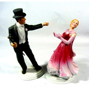 Ginger Rogers & Fred Astaire 1984 15cm Linda Fiel Reprodução