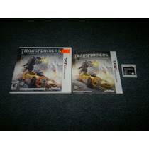 Transformers Dark Of The Moon Completo Para Nintendo 3ds