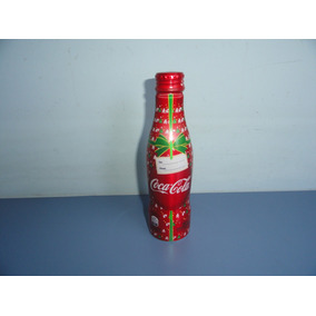 Linda Garrafa De Aluminio Da Coca Cola Com Tema Do Natal