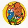 Figurita Redonda Álbum Chapitas 1981 Roberto Goyeneche Nº 58