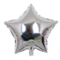 50 Baloes Coração Látex Festas Brindes Metalizados 45cm