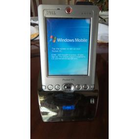 Pocket Pc Dell Axim Con Tarjeta De Memoria Y Base Cargadora