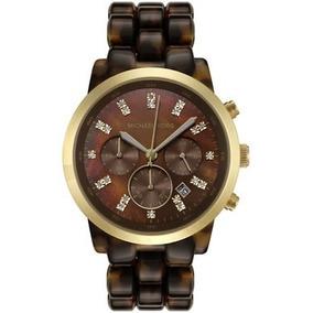 Relógio Michael Kors Mk5216 Tartaruga Com Garantia, Origin