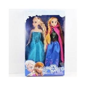 2 Bonecas Frozen Ana E Elsa Pronta Entrega Frete Grátis