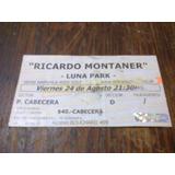 Entrada Ricardo Montaner 2007