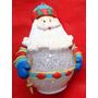 Papai Noel Em Plástico - Luz Interna - Faz Ele Mudar - A11