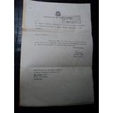 Getúlio Vargas E Francisco Campos (carta De Nomeação)
