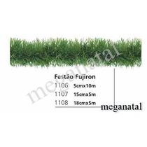 Festão Fugiron Verde- Medidas De 18cmx 5 Metros