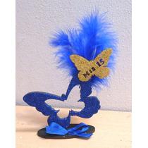 Mariposas De Madera Decorada Para 15