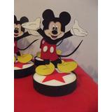 Centros De Mesa Mickey Mouse En Goma Eva.x 5u.