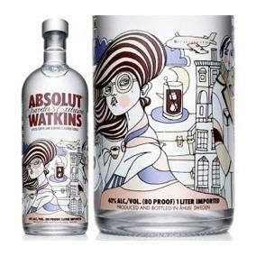 Vodka Absolut Watkins Edition Edição Limitada 1l Original