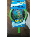 Set X2 Raquetas De Tennis Infantil Tinker Bell