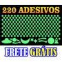 220 Adesivos Fluorescentes Estrelas Planetas Frete Grátis