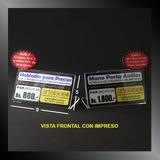 Display Hablador Acrílico P V P, Porta Precios (9 X 5)