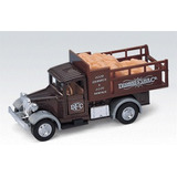 Camión De Harina Escala 1:43 Welly Antique Lorry
