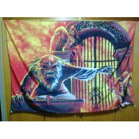 Bandeira Iron Maiden 100% Polyester
