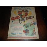 Antigua Publicidad Bicicleta Cyclus Veloz Bellotti Hnos Auto