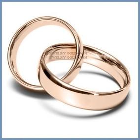 Argollas Matrimoniales Mod. Classic En Oro Rosa 10k Solido