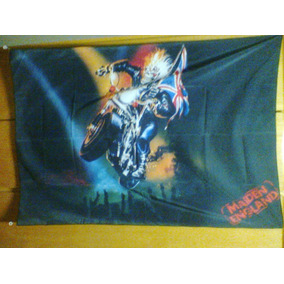 Bandeira Iron Maiden Maiden England 100% Polyester