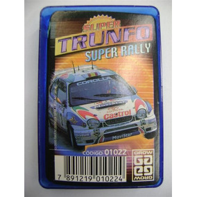 Rb014 - Super Trunfo Carros Super Rally Grow Completo