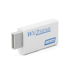 Wii2hdmi - Adaptador Conversor Hdmi Para Wii Full Hd Tv Lcd